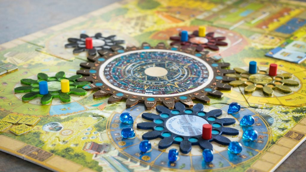 Plateau d'un jeu de société