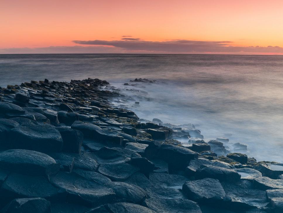 La Chaussée des Géants ou Giant's Causeway en Irlande du Nord