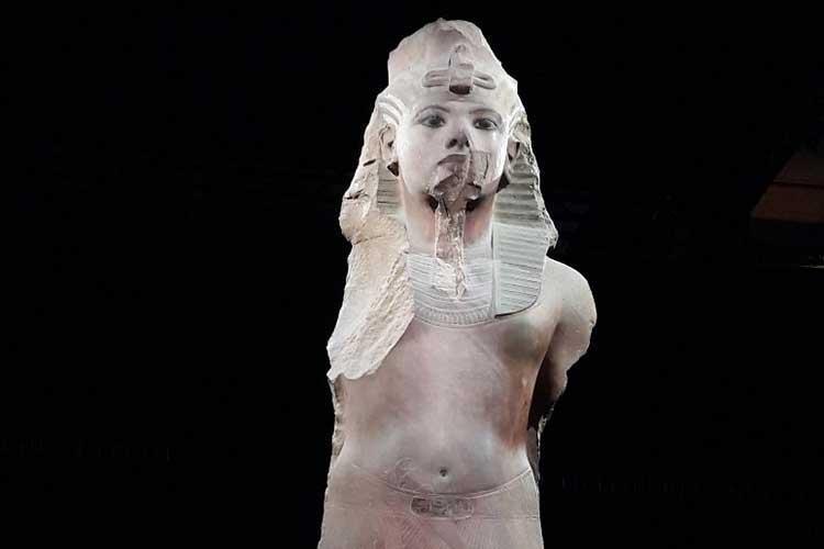 Pharaon Toutankhamon #Sandy. LE BLOG